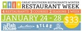 Winter Restaurants Week