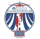 USO Runway Run Logo