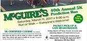 McGuire's 5K Prediction Run