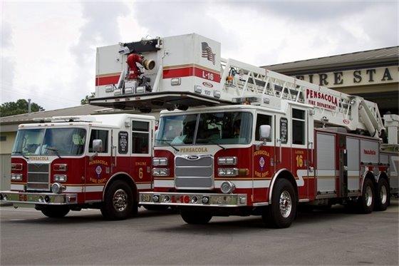 Pensacola Fire Department Engine Crew 6