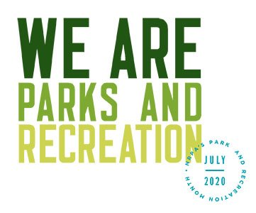 2020 Park and Recreation Month Logo