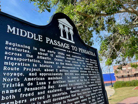 Middle passage marker