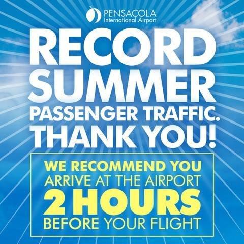 Record summer passenger traffic. Thank you!