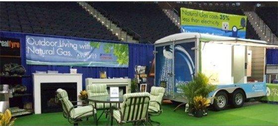 Pensacola Energy booth