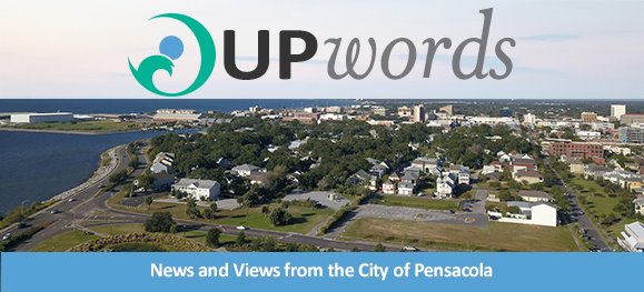 View of the City of Pensacola