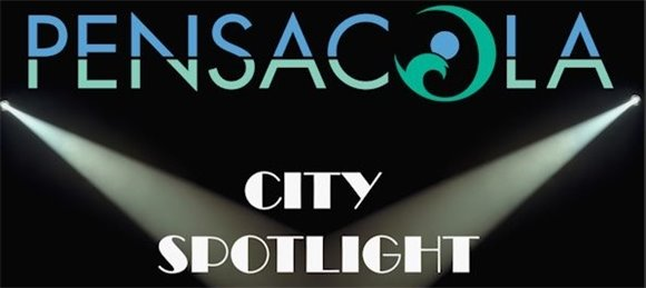 A graphic of Pensacola City Spotlight