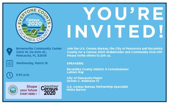 You're invited: Census 2020 Stakeholder and Community Kick-Off