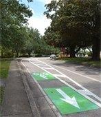Bike Lanes on Palafox Street