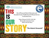 Information flier on black history month