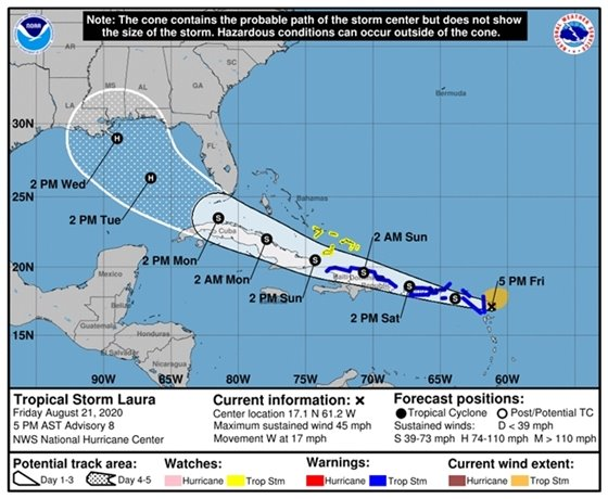 Tropical Storm Laura