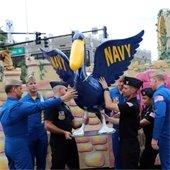 Navy Pelican unveiling