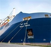 Bahri Abha parked at port of pensacola