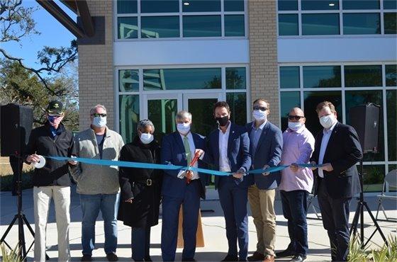 Bayview Community Center Ribbon Cutting