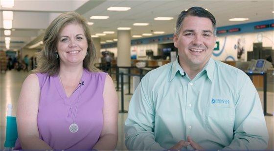 City of Pensacola News Show Hosts Tonya Vaden and John Scanlon