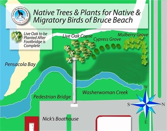 Bruce Beach map