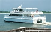 Pensacola Bay Ferry in the bay