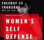women's self defense class flier