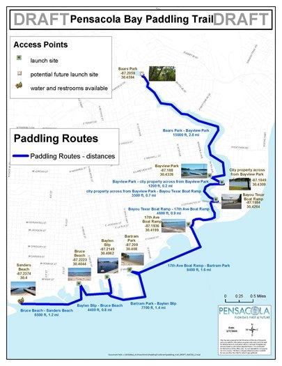 Pensacola Bay Paddling Trail draft