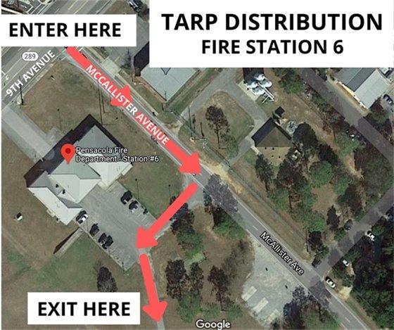 Tarp map Fire Station 6