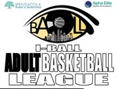 informational flyer on iball basketball league