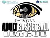 informational flyer on iball basketball league