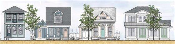 Garden District Cottages rendering