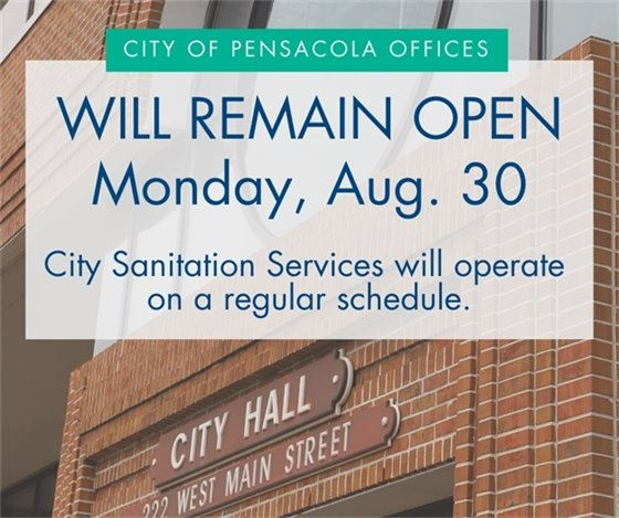 City offices remain open