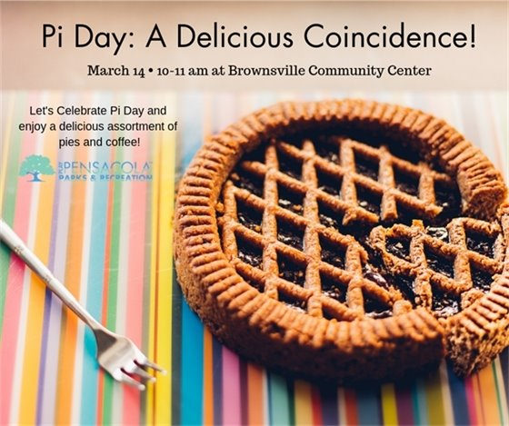 Pi Day informational flier
