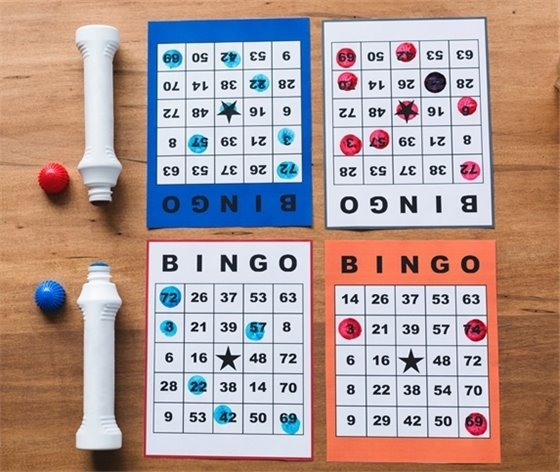 Bingo Dabbers and Cards
