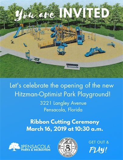 Informational flier about the ribbon cutting event on March 16
