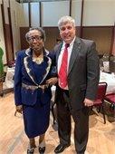 Mayor Robinson at the MLK prayer breakfast