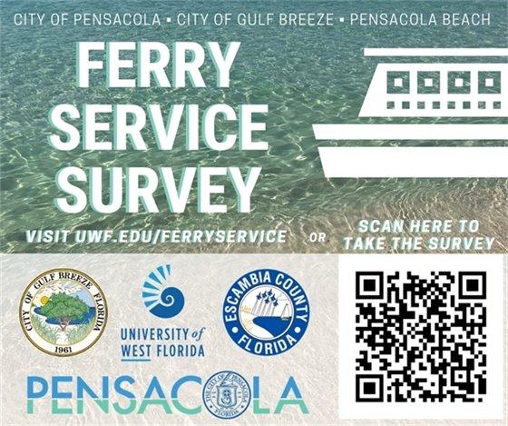 Ferry service survey - uwf.edu/ferryservice