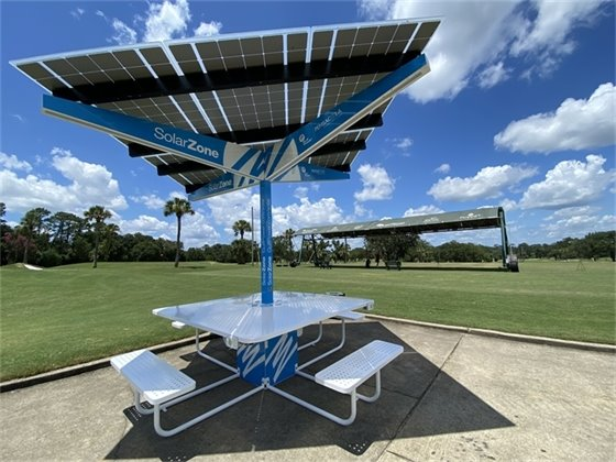 Solar Zone at Osceola Golf Course