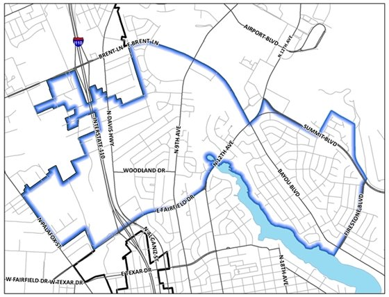 August neighborhood cleanup map