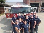 Fire station selfie