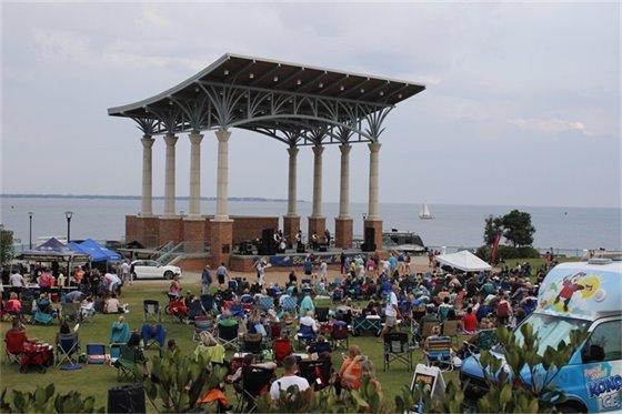 concert series at Community Maritime Park