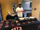Radio DJ from 107.3 The Beat