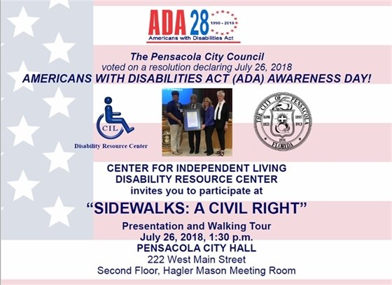Americans with disabilities act awareness day