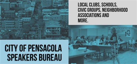 photo of the city of pensacola's speakers bureau