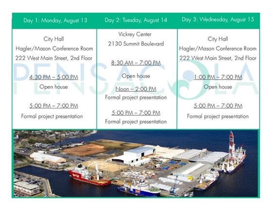 times for the port workshop