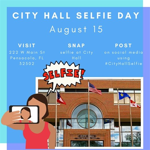 Information on City Hall Selfie Day