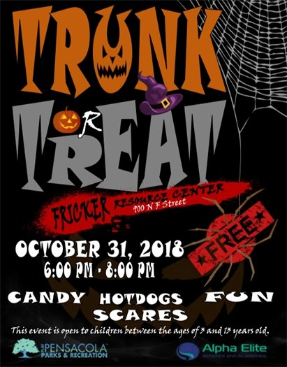 Flyer for Trunk or Treat