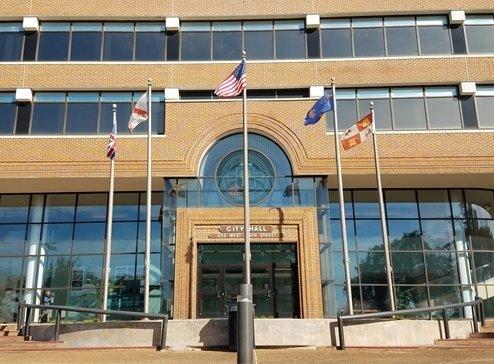A photo of city hall