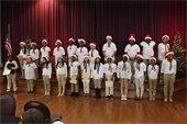 A photo of a child's chorus