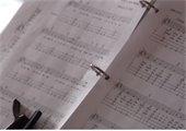 A photo of a music sheet