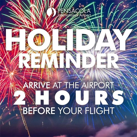 A photo of a holiday reminder