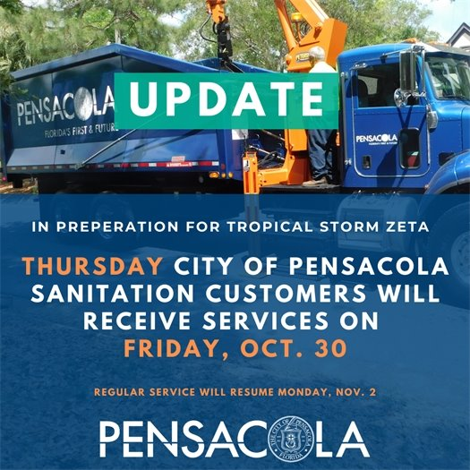 Thursday customers will receive pickup on Friday.