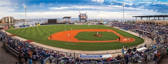 Blue Wahoos baseball stadium
