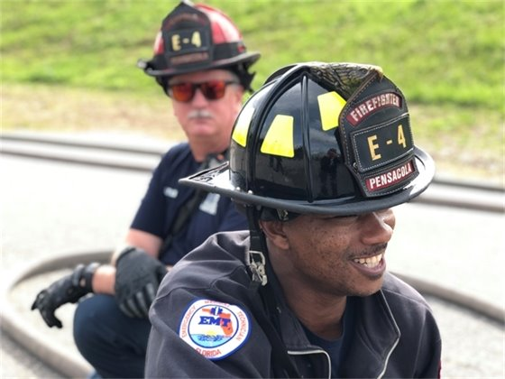 A photo of Firefighter Charles Clark