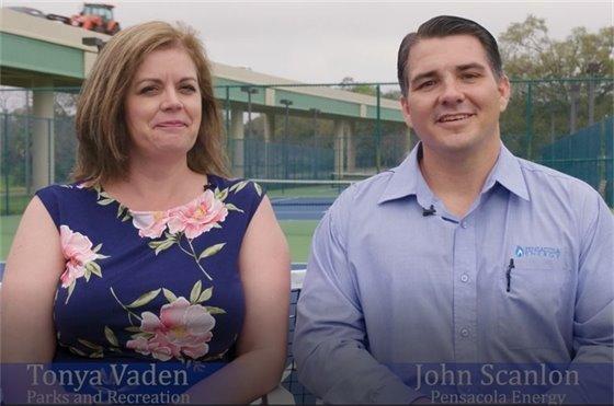Tonya Vaden and John Scanlon